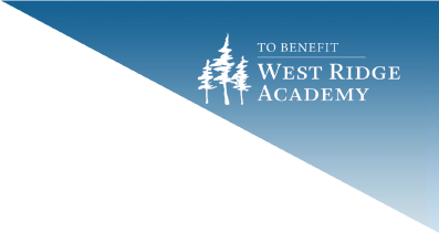 To Benefit West Ridge Academy